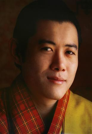 An undated portrait of Jigme Khesar Namgyel Wangchuck is seen in Thimphu November 4, 2008. REUTERS/Royal Palace/Handout