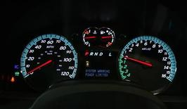<p>The dashboard of a Chevrolet Equinox Fuel Cell test vehicle is seen in Los Angeles June 10, 2008. REUTERS/Mario Anzuoni</p>