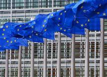 <p>La Commission européenne a revu sa copie sur la création d'un régulateur européen des télécommunications, en réduisant de manière substantielle la taille et les compétences de l'autorité qu'elle souhaite créer. /Photo d'archives/REUTERS/Yves Herman</p>