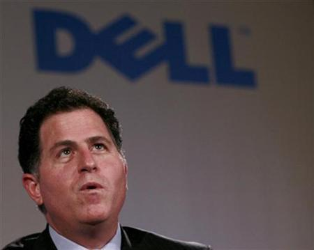 Michael Dell, Chief Executive Officer of Dell Inc., attends a news conference in New Delhi March 20, 2007. REUTERS/Vijay Mathur