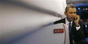 <p>Il presidente eletto Barack Obama. REUTERS/Kevin Lamarque</p>