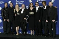 """<p>Il cast della serie tv americana """"Csi - scena del crimine"""". REUTERS/Adrees Latif FG/HB</p>"""