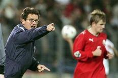 <p>Fabio Capello allenatore dlel'Inghilterra. REUTERS/ Vasily Fedosenko</p>