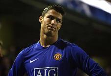 <p>O atacante Cristiano Ronaldo, do Manchester United, em partida contra o Villareal . 25 de novembro.REUTERS/Sergio Perez (SPAIN)</p>