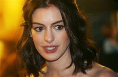 """<p>Foto de arquivo de Anne Hathaway, estrela de """"O Casamento de Rachel"""" REUTERS/Luke MacGregor/Files (BRITAIN)</p>"""