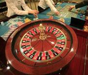<p>Immagine d'archivio di una roulette in un casinò. REUTERS/Fatih Saribas (TURKEY)</p>