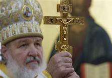 <p>Il metropolita Kirill. REUTERS/Ramon Espinosa/Pool (CUBA)</p>