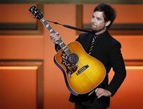 <p>Il vincitore di American Idol, David Cook. REUTERS/Lucas Jackson</p>