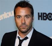 "<p>Actor Jeremy Piven attends the premiere of the fifth season of ""Entourage"" presented by HBO at the Ziegfeld Theater in New York September 3, 2008. REUTERS/Joshua Lott</p>"