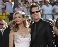 <p>Kevin Bacon and Kyra Sedgwick at the 60th annual Primetime Emmy Awards. The Hollywood couple are the latest to have lost money on investments connected to accused swindler Bernard Madoff, according to media reports. REUTERS/Mario Anzuoni</p>