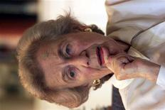 <p>L'attivista sudafricana anti-apartheid Helen Suzman SS/WS</p>