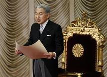 <p>L'imperatore giapponese Akihito REUTERS/Issei Kato</p>