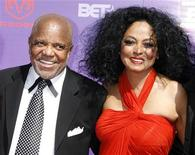 <p>Motown Records founder Berry Gordy (L) and singer Diana Ross arrive at the 2007 BET Awards in Los Angeles, California, June 26, 2007. REUTERS/Fred Prouser</p>