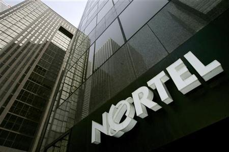 A Nortel sign is seen in downtown Toronto February 27, 2008. REUTERS/Mark Blinch