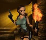 """<p>La société britannique Eidos, développeur de la série de jeux vidéo """"Tomb Raider"""", annonce avoir été approchée en vue d'un éventuel rachat. /Photo d'archives/REUTERS</p>"""