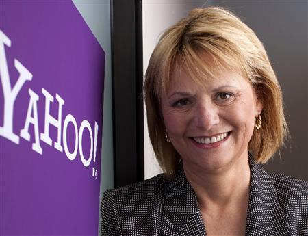 Carol Bartz, newly named chief executive of Internet company Yahoo Inc, is shown in this undated publicity photo released to Reuters January 13, 2009. REUTERS/Business Wire/Yahoo/Handout