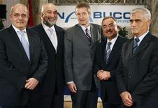 """<p>Турция может отказаться от поддержки газопровода """"Набукко"""", если ЕС не возобновит переговоры по энергетическим вопросам, необходимые Турции для вступления в ЕС, сказал премьер-министр Тайип Эрдоган во время визита в Брюссель. REUTERS/Heinz-Peter Bader (AUSTRIA)</p>"""