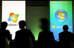<p>Il logo di Windows, immagine d'archivio. REUTERS/Kiyoshi Ota (JAPAN)</p>