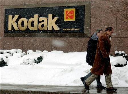 Kodak workers enter the corporate headquarters in Rochester, New York, in a file photo. REUTERS/Gary Wiepert
