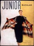"<p>Model Anne Theophane ""Theo"" Graham appears in a cover photo by Richard Avedon on Junior Bazaar magazine in July 1947. Miniature stills of an American model posing in jeweled Dior gowns or a Balenciaga jacket are among dozens of previously unseen photos by famed photographer Richard Avedon that went on display in Rome January 30, 2009. The mostly black and white fashion shoot frames were found in an old trunk belonging to the late model Anne Theophane Graham and give a frame-by-frame glimpse into the celebrated photographer's early works for magazines in the late 1940s. REUTERS/The Richard Avedon Foundation/Handout</p>"