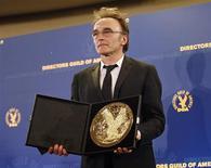"""<p>O sindicato de diretores dos Estados Unidos deu o prêmio de melhor diretor ao britânico Danny Boyle pela história de um garoto pobre que se torna rico, em """"Slumdog Millionaire"""". REUTERS/Mario Anzuoni (UNITED STATES)</p>"""