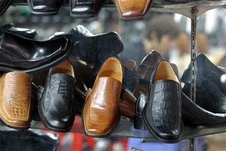 File image of shoes taken February 24, 2006. REUTERS/Kham