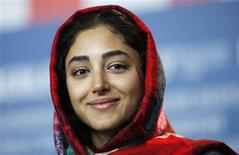 "<p>Iranian actress Golshifteh Farahani attends a news conference to promote the film ""About Elly"" of the 59th Berlinale film festival in Berlin, February 7, 2009. REUTERS/Johannes Eisele</p>"