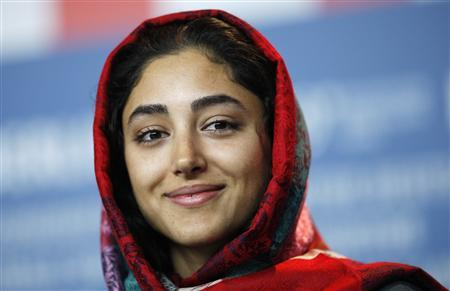 Iranian actress Golshifteh Farahani attends a news conference to promote the film ''About Elly'' of the 59th Berlinale film festival in Berlin, February 7, 2009. REUTERS/Johannes Eisele