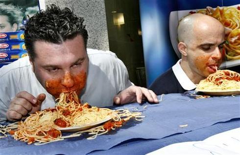 Extreme eating