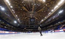 <p>A view of the interior of the Colliseum, venue for the Figure Skating and Short Track Speed Skating during the 2010 Olympic Winter Games, during the ISU Four Continents Figure Skating Championships in Vancouver, British Columbia in this February 7, 2009 file photo. REUTERS/Andy Clark/Files</p>