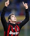 <p>Il brasiliano Kaka fuoriclasse del Milan. REUTERS/Giampiero Sposito</p>