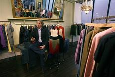 <p>British designer Paul Smith speaks during an interview with Reuters at his office in central London February 17, 2009. REUTERS/Andrew Winning</p>