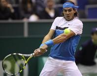 <p>Rafael Nadal, tenista número 1 do mundo, foi convocado nesta sexta-feira para defender a equipe espanhola que receberá a Sérvia, mês que vêm, na primeira rodada da Copa Davis. REUTERS/ Michael Kooren</p>