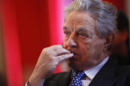 George Soros, chairman of Soros Fund Management, listens to economists speaking at the ''Emerging from the Financial Crisis'' annual conference at Columbia University in New York, February 20, 2009. REUTERS/Chip East