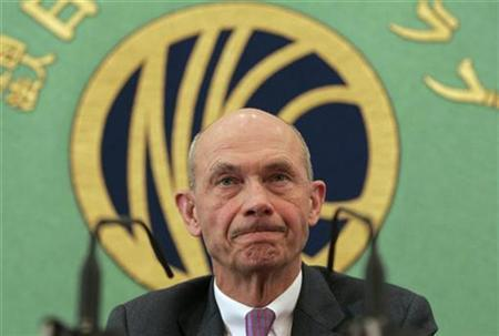 World Trade Organization (WTO) Director-General Pascal Lamy attends a news conference at the Japan National Press Club in Tokyo February 25, 2009. REUTERS/Michael Caronna