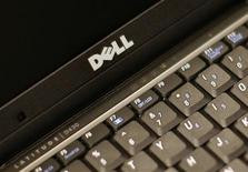<p>Dell, deuxième fabricant mondial d'ordinateurs personnels a enregistré au quatrième trimestre de son exercice 2008 une nette chute de ses ventes et de ses bénéfices. /Photo d'archives/REUTERS/Brendan McDermid</p>