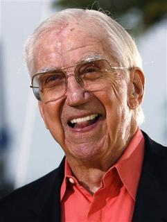 Television personality Ed McMahon arrives at the premiere of ''The Simpsons Movie'' in Westwood, California July 24, 2007. REUTERS/Mario Anzuoni