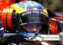 <p>A Toro Rosso lança na segunda-feira que vem em Barcelona o seu novo carro STR4, disse a equipe da Fórmula 1 na quarta-feira. REUTERS/Gustau Nacarino</p>
