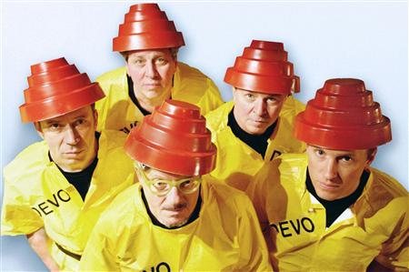 The new wave band Devo are shown in this undated publicity photo released to Reuters March 10, 2009. REUTERS/Devo/Handout