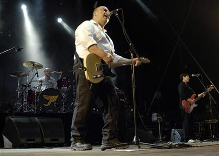 Frank Black of the U.S. band The Pixies performs during the opening night of the Paleo music festival in Nyon in this file photo from July 18, 2006. REUTERS/Denis Balibouse