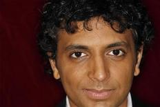 "<p>Director M. Night Shyamalan poses for a portrait during a press day promoting his new film ""The Happening"" in New York, June 9, 2008. REUTERS/Lucas Jackson</p>"