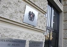 <p>Una foto del carcere di Sankt Poelten in Austria. REUTERS/Dominic Ebenbichler</p>