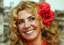 """<p>Британская актриса Наташа Ричардсон на пресс-конференции посвященной выходу фильма """"Белая графиня"""" в Шанхае 8 октября 2004 года. Актриса Наташа Ричардсон из британской театральной династии Рэдгрейв умерла в среду в возрасте 45 лет от черепно-мозговой травмы, полученной в начале недели во время катания на лыжах. REUTERS/Claro Cortes IV</p>"""