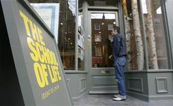<p>A man reads notices in the window of The School of Life in central London March 24, 2009. When it opened its doors in September last year -- the same day that Lehman Brothers collapsed -- the School of Life could hardly have predicted that the world's economy was about go into meltdown. Designed to give its students -- mostly urban professionals looking to expand their horizons -- lessons in life and how better to appreciate its quirks and foibles, the school has tapped a rich vein at a time of social and economic uncertainty. REUTERS/Luke MacGregor</p>