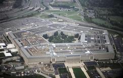 <p>Вид на здание Пентагона 28 сентября 2008 года. Экономические санкции быстрее приведут Иран за стол переговоров, чем дипломатические шаги, считает министр обороны США Роберт Гейтс. REUTERS/Jason Reed</p>