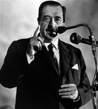 <p>L'ex-presidente argentino Raul Alfonsin a Buenos Aires in una immagine del 1989. REUTERS/Stringer/Files</p>
