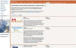 <p>Un'immagine dei Gmail Labs. REUTERS/Ho Google</p>