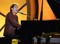 "<p>""American Idol"" contestant Scott MacIntyre in an undated photo. REUTERS/FOX/Handout</p>"