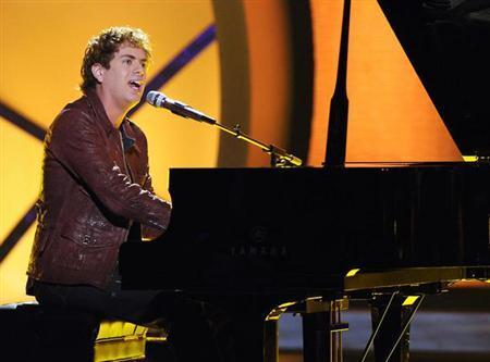 ''American Idol'' contestant Scott MacIntyre in an undated photo. REUTERS/FOX/Handout