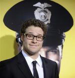 "<p>Seth Rogen, integrante do elenco do ""Observe and Report"", na estreia em Los Angeles. 06/04/2009. REUTERS/Phil McCarten</p>"